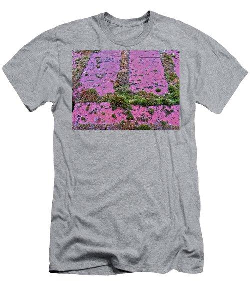 Brick Wall Men's T-Shirt (Slim Fit) by Bill Owen