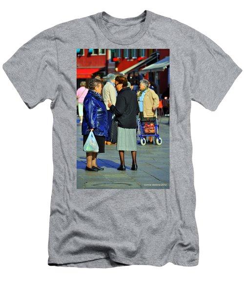 Burano Traffic Jam Men's T-Shirt (Athletic Fit)