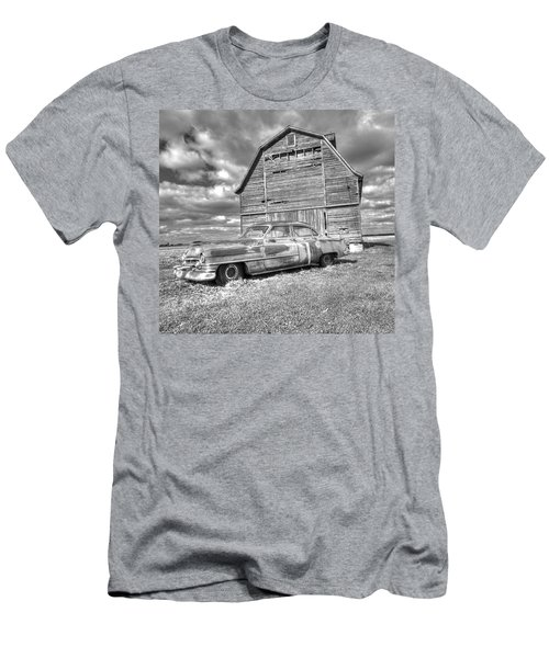 Bw - Rusty Old Cadillac Men's T-Shirt (Athletic Fit)