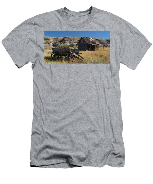 Cabin And Wagon Alberta  Men's T-Shirt (Athletic Fit)