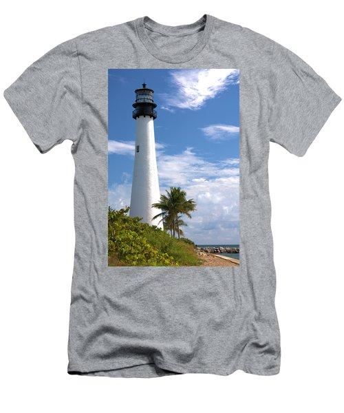 Cape Florida Lighthouse Men's T-Shirt (Athletic Fit)