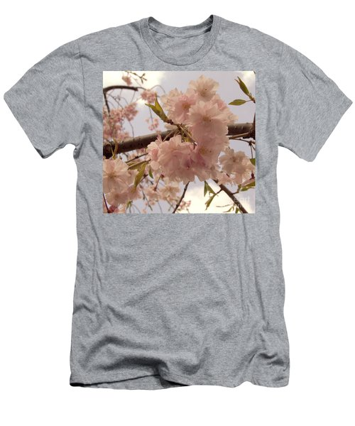 Men's T-Shirt (Slim Fit) featuring the photograph Cherry Blossom 2 by Andrea Anderegg