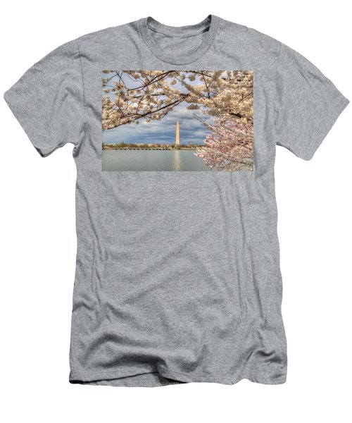 Cherry Blossoms Washington Dc 4 Men's T-Shirt (Athletic Fit)