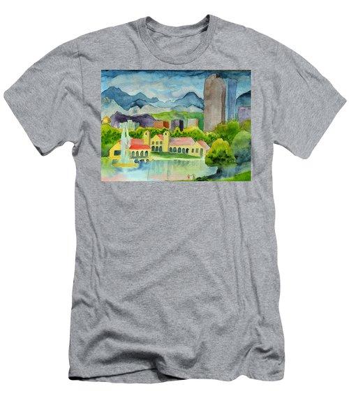 City Park Wonderland Summer Men's T-Shirt (Athletic Fit)