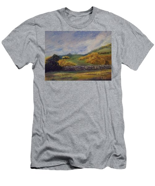 Clover Fields Men's T-Shirt (Athletic Fit)
