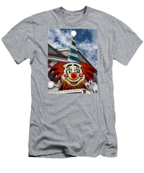 Clown Around Men's T-Shirt (Slim Fit) by Colleen Kammerer