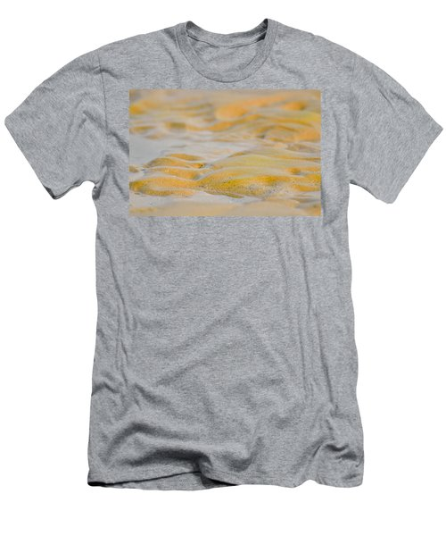 Coastal Abstract Men's T-Shirt (Slim Fit) by Fotosas Photography