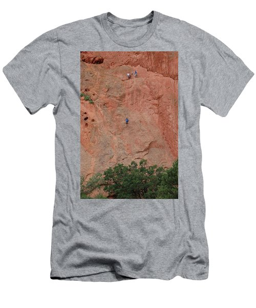 Coming Down The Mountain Men's T-Shirt (Athletic Fit)
