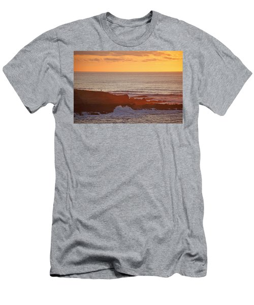 Men's T-Shirt (Slim Fit) featuring the photograph Contemplation by Susan Rovira
