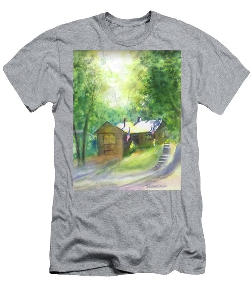 Cool Colorado Cabin Men's T-Shirt (Athletic Fit)