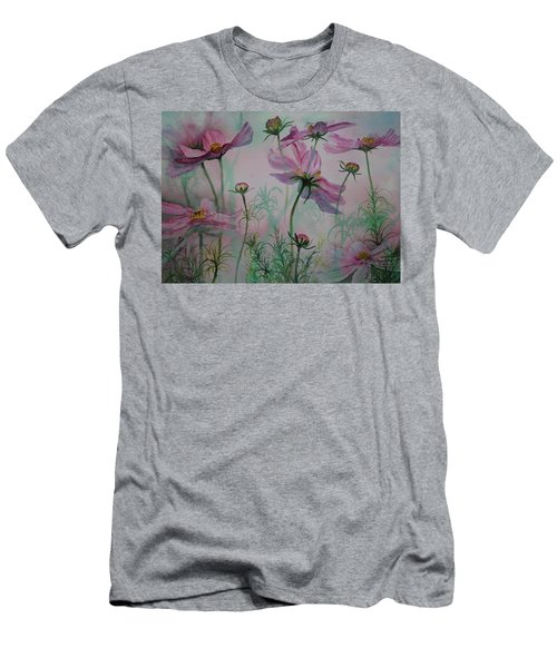 Cosmos Men's T-Shirt (Slim Fit) by Ruth Kamenev
