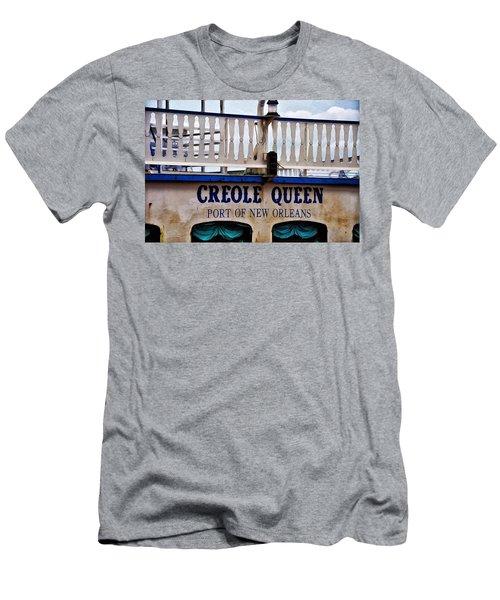 44eebc1b63b Creole Queen Men s T-Shirt (Athletic Fit)