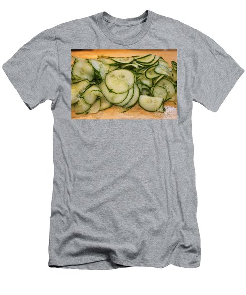 Cucumbers Men's T-Shirt (Athletic Fit)