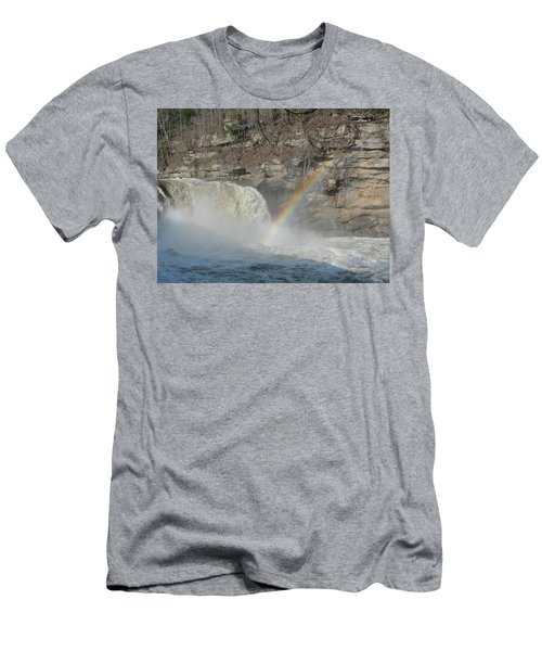 Men's T-Shirt (Slim Fit) featuring the photograph Cumberland Falls by Tiffany Erdman
