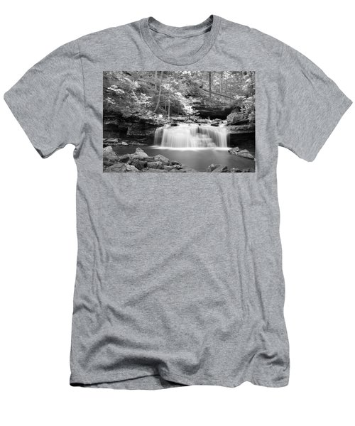 Dainty Waterfall Men's T-Shirt (Athletic Fit)