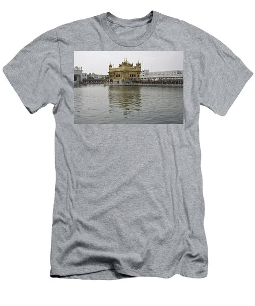 Darbar Sahib And Sarovar Inside The Golden Temple Men's T-Shirt (Athletic Fit)