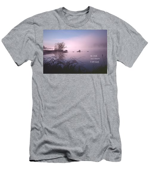 Dawn On The Chippewa River Men's T-Shirt (Athletic Fit)