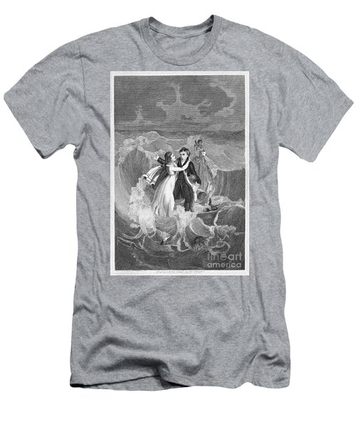 Death Of Missionary, 1822 Men's T-Shirt (Athletic Fit)