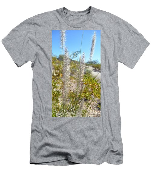 Men's T-Shirt (Slim Fit) featuring the photograph Desert Trail by Kume Bryant