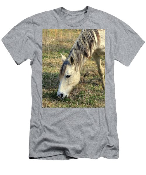 Men's T-Shirt (Slim Fit) featuring the photograph Dinner Time by Marty Koch