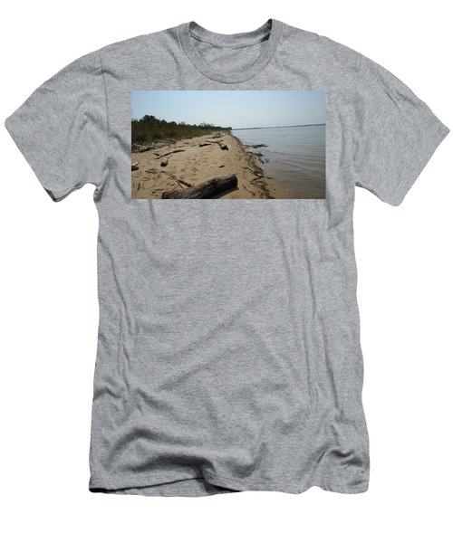 Men's T-Shirt (Slim Fit) featuring the photograph Driftwood by Charles Kraus