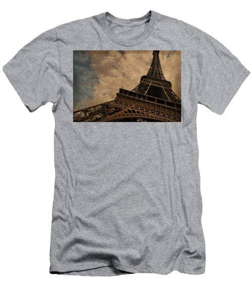 Eiffel Tower 2 Men's T-Shirt (Athletic Fit)