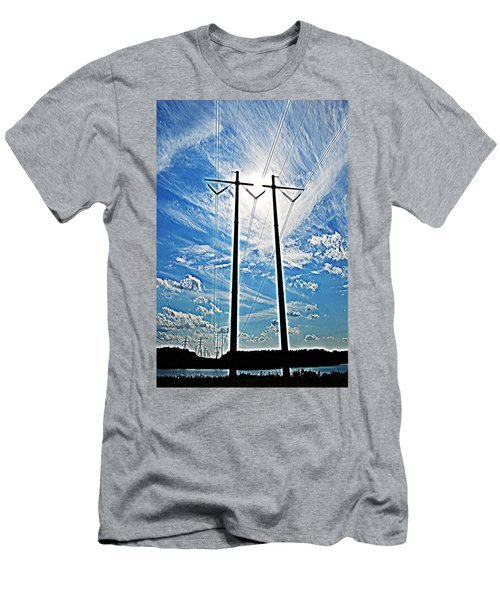 Electric Men's T-Shirt (Athletic Fit)