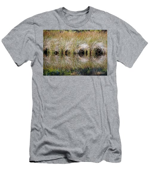 Men's T-Shirt (Slim Fit) featuring the photograph Escape Hatches by Kay Lovingood