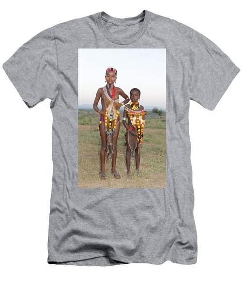 Ethiopia-south Sisters Men's T-Shirt (Athletic Fit)