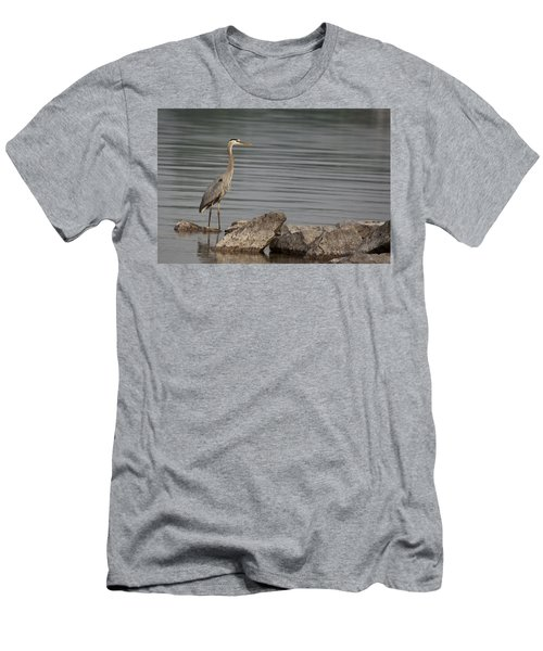 Men's T-Shirt (Slim Fit) featuring the photograph Ever Alert by Eunice Gibb