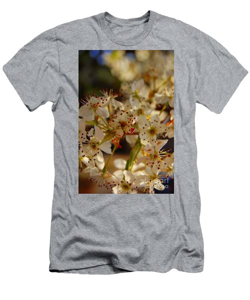 Faded Blossom Men's T-Shirt (Athletic Fit)