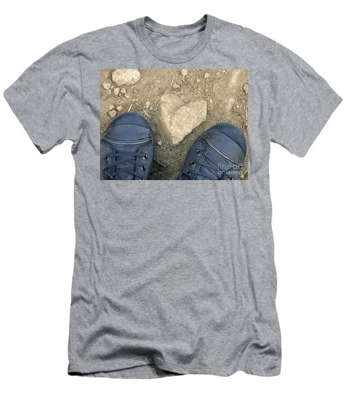 Finding Hearts Men's T-Shirt (Athletic Fit)
