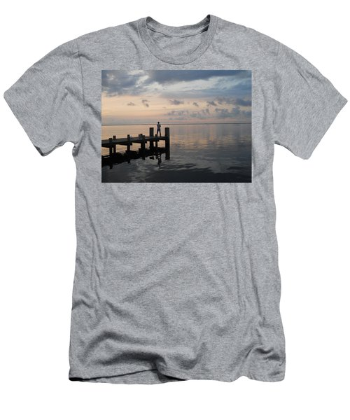 Men's T-Shirt (Slim Fit) featuring the photograph First Light by Clara Sue Beym