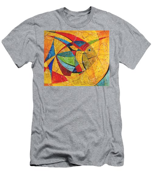 Fish V Men's T-Shirt (Athletic Fit)