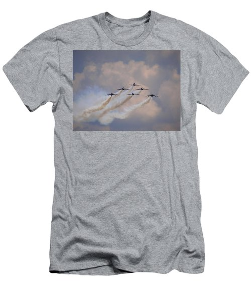Flying In Formation Men's T-Shirt (Athletic Fit)