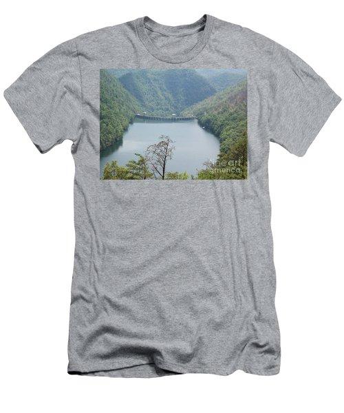Fontana Dam Men's T-Shirt (Athletic Fit)