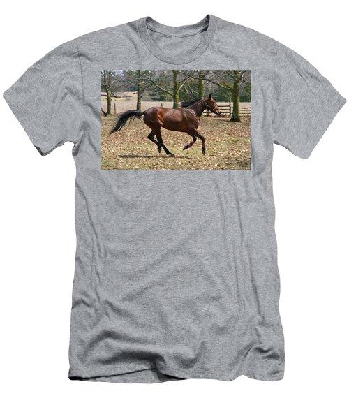 Men's T-Shirt (Slim Fit) featuring the photograph Free Spirit by Davandra Cribbie