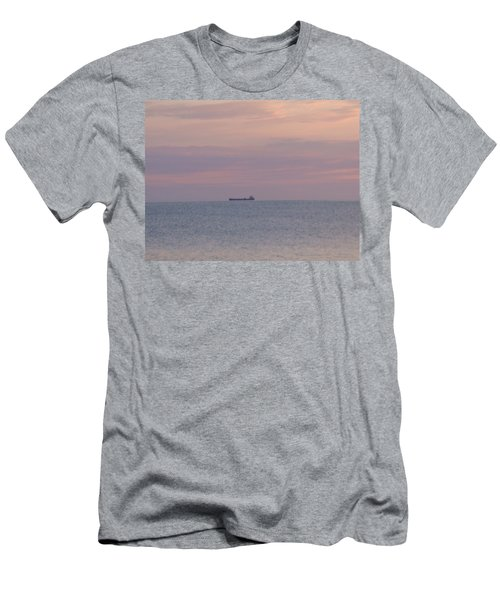 Men's T-Shirt (Slim Fit) featuring the photograph Freighter by Bonfire Photography