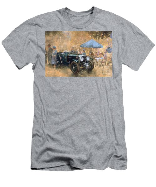 Garden Party With The Bentley Men's T-Shirt (Athletic Fit)