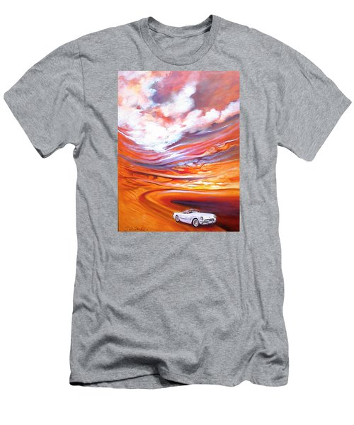 Corvette Heaven Men's T-Shirt (Slim Fit) by Jan VonBokel