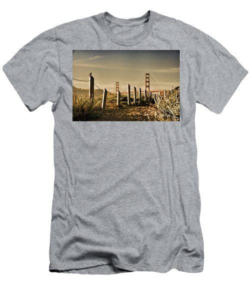 Golden Gate Bridge - 3 Men's T-Shirt (Athletic Fit)