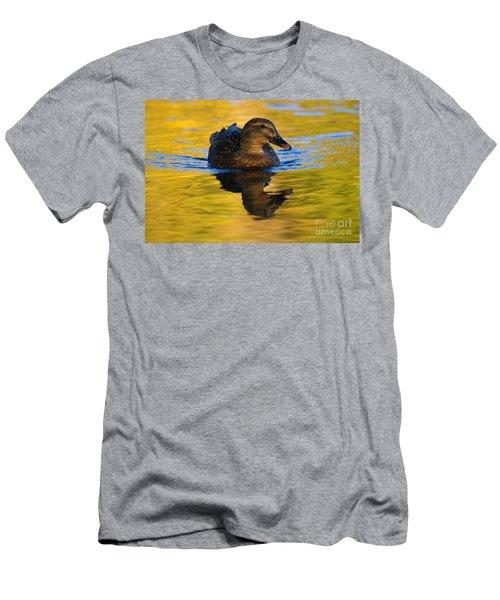 Golden Hen Men's T-Shirt (Athletic Fit)