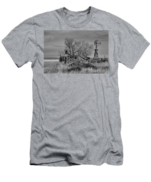 High Plains Wind Men's T-Shirt (Athletic Fit)