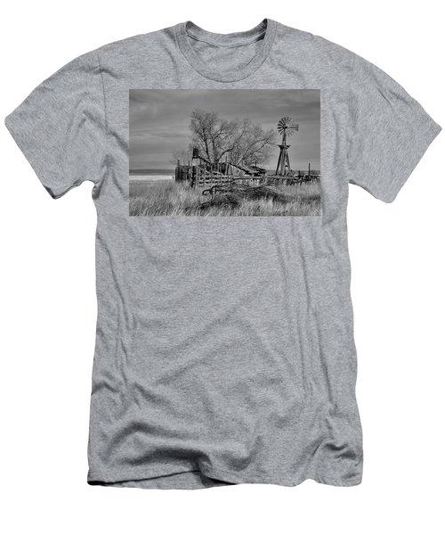 High Plains Wind Men's T-Shirt (Athletic Fit)