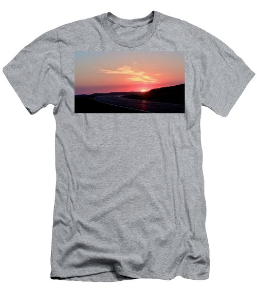 Highway To The Sky Men's T-Shirt (Athletic Fit)