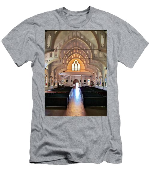 Holy Rosary 2 Men's T-Shirt (Athletic Fit)