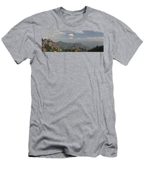 Huangshan Panorama 1 Men's T-Shirt (Athletic Fit)