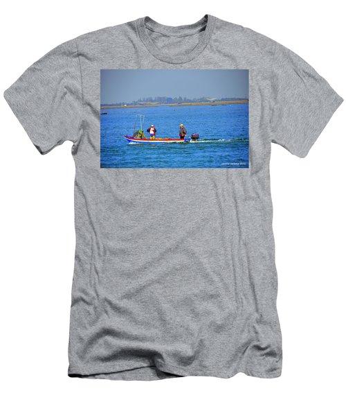 Italian Fisherman Men's T-Shirt (Athletic Fit)