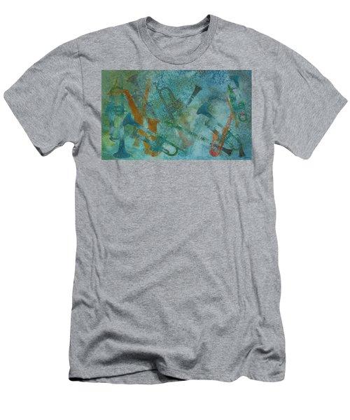 Jazz Improvisation One Men's T-Shirt (Athletic Fit)