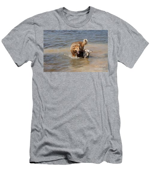Jesse And Gremlin Sharing Men's T-Shirt (Slim Fit) by Jeannette Hunt